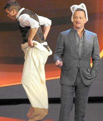 Markus Lanz, Tom Hanks, Wetten dass...?
