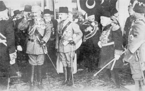 Wilhelm II und Enver Pasha