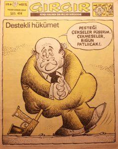 Ein GırGır-Titel aus den 70'ern
